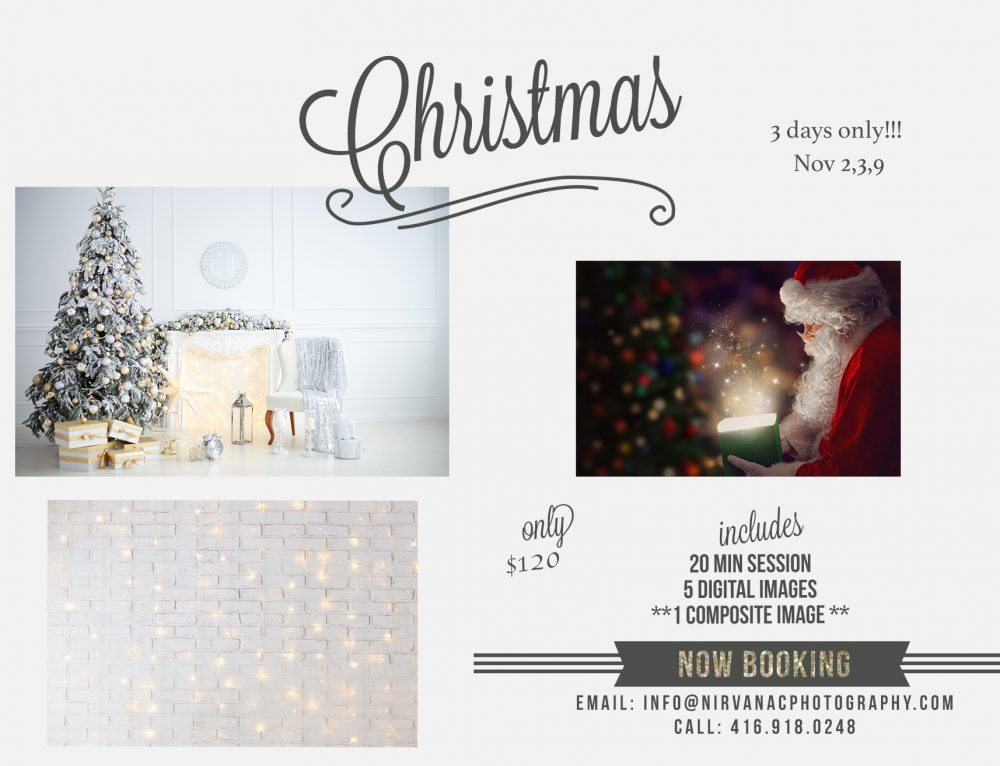 ** Christmas Mini Sessions **