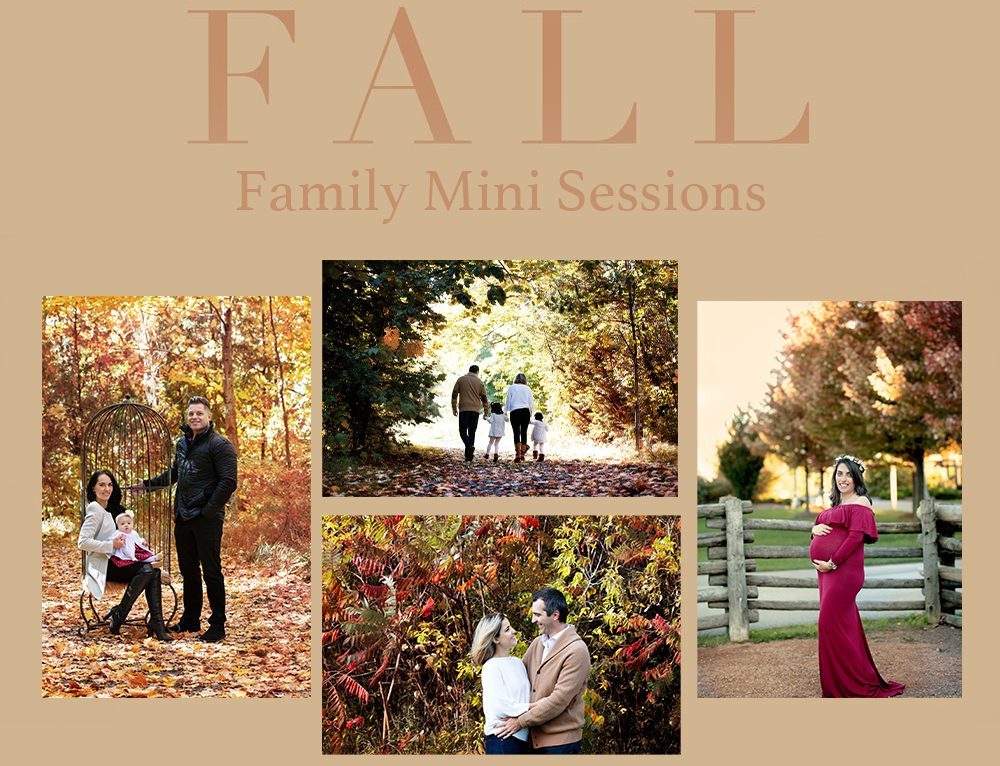 FALL 2020 FAMILY, KIDS and MATERNITY MINI SESSIONS!